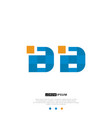 bb or logo letter initial design template