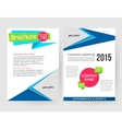 Corporate business stationery brochure template vector image vector image