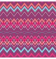 Tribal Boho Seamless Pattern with Rhombus vector image vector image