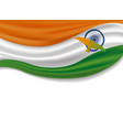 15th august india independence day design vector image