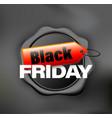 black friday banner wax vector image vector image