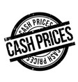 cash prices rubber stamp vector image