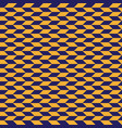 geometric seamless pattern with stripe and vector image vector image