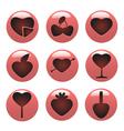 love concept icon vector image