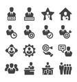 manager icon vector image vector image