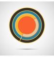 Modern circle Concept design vector image