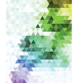 Multicolored mosaic background vector image