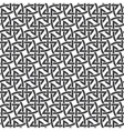 Seamless pattern of intersecting braces vector image vector image