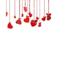Valentines Day Background EPS 8 vector image vector image