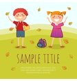 Back to school conept vector image vector image