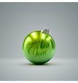 Christmas ball Holiday vector image vector image
