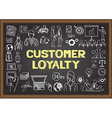 customer loyalty vector image vector image