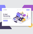 drop shipping isometric vector image vector image