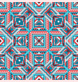 ethnic tribal seamless pattern aztec style vector image