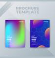 Flyer brochure design template cover business