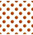 handmade cookies pattern seamless vector image vector image