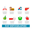lose weight jogging infographic elements and vector image