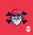 modern professional emblem pirates for american vector image vector image