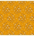 bohemian celestial pattern vector image vector image