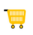 cart for shopping vector image