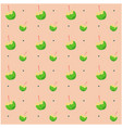 coconut ready to drink pattern pink background vec vector image