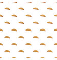croissant pattern vector image