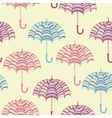cute umbrellas vector image vector image