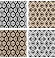 Design seamless hexagon pattern vector image