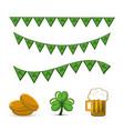 happy st patricks day icon vector image vector image