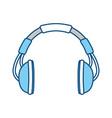 Music headphones symbol