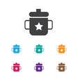 of infant symbol on mug icon vector image vector image
