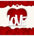 St Valentines Day Greeting Card vector image vector image