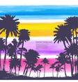 vintage banners hawaiian island vector image vector image