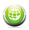 world wide web geology design icon company vector image