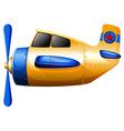 a propeller-powered aircraft