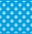 hot drink pattern seamless blue vector image