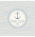 Navy pattern light vector image vector image
