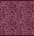 paisley - seamless colorful ethnic pattern vector image vector image