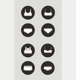 sport underwear icon bra and panties vector image vector image