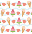 summer holiday poster pattern background vector image