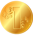 coin vector image
