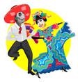 day dead dia de los muertos carnival vector image vector image