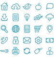 Hand-drawn icons for design vector image
