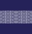 ikat ornament ethnic seamless pattern vector image