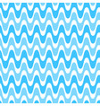 waves geometric seamless pattern simple wavy vector image vector image
