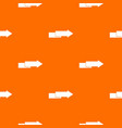 arrow to right pattern seamless vector image vector image