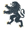 Heraldic lion20 vector image vector image
