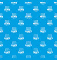 paint tool pattern seamless blue vector image vector image