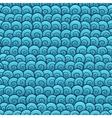 Retro shells pattern vector image vector image
