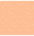 Seamless pattern with doodle pencils vector image